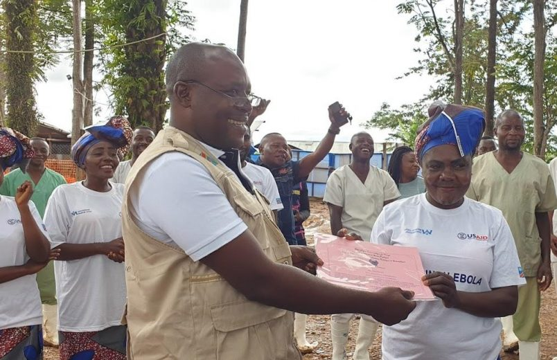 With guarded optimism, WHO honors 1000th DRC Ebola survivor