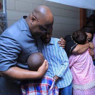 DRC: Tshisekedi visits grieving families after plane, bodies found