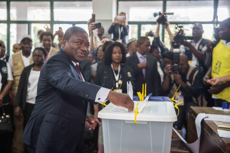 Tensions escalate as Mozambique awaits election results