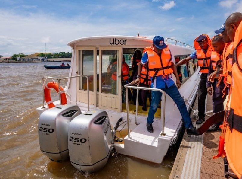 UberBOAT pilot program sets sail in Lagos