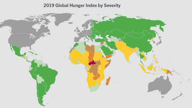 Global Hunger Index finds C.A.R. at highest risk