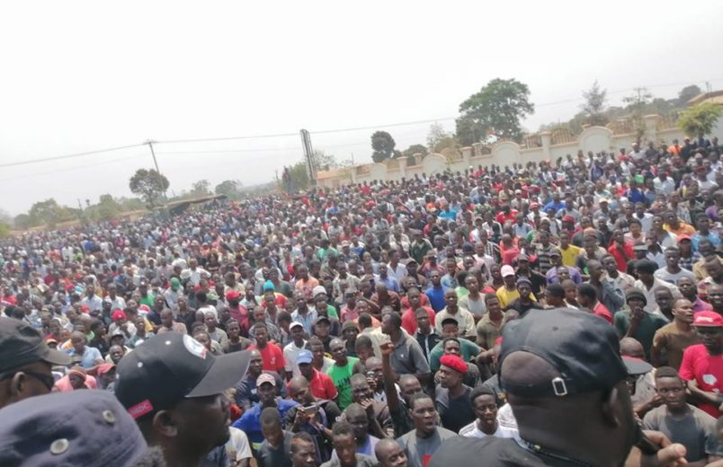 Protests continue for a fourth day in Malawi