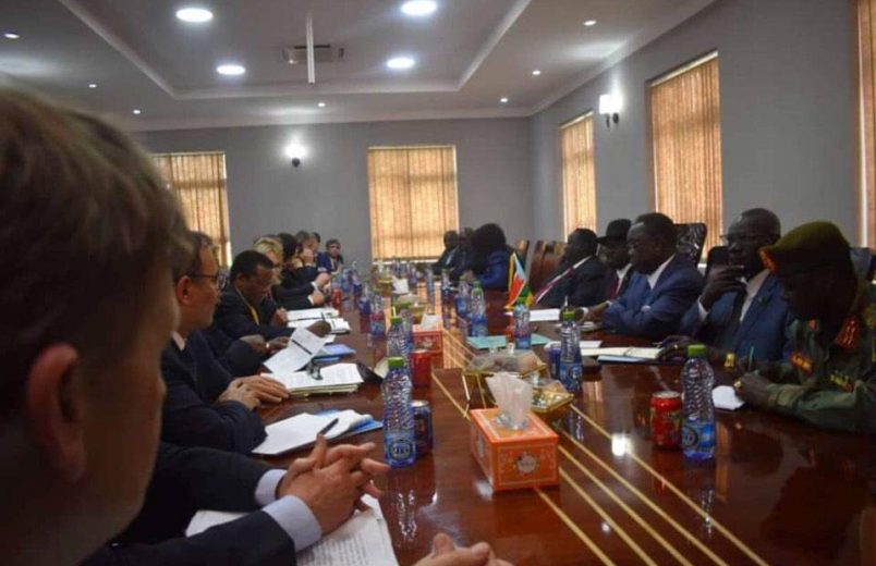 UN Security Council, troika press South Sudan on progress
