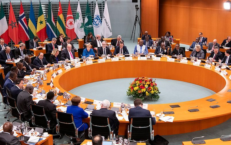 Merkel hosts African leaders for Compact with Africa meetings