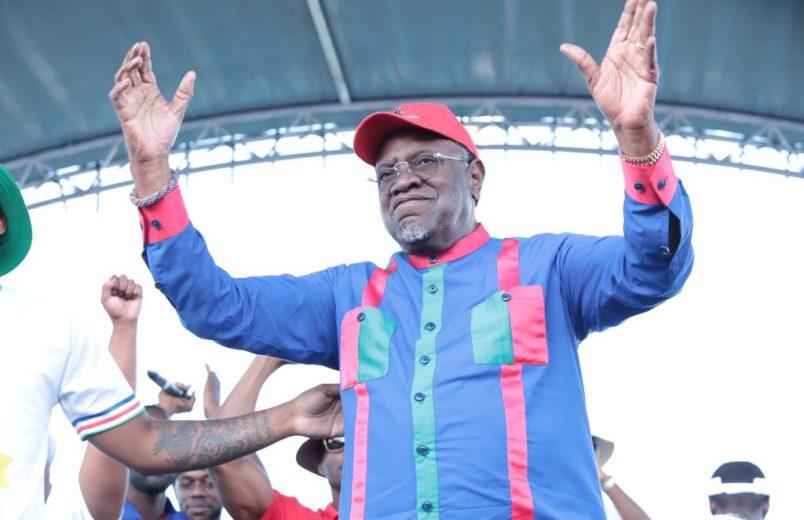 Namibia's Geingob, Itula head toward election