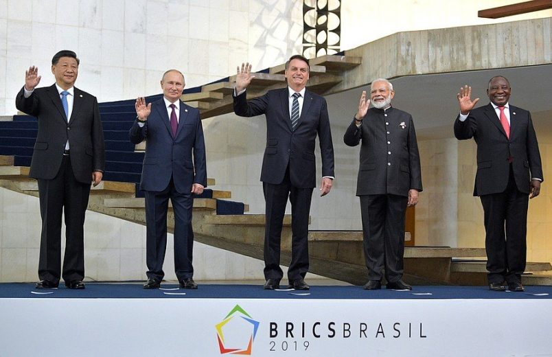 Ramaphosa focuses on economy at BRICS summit