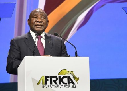 Ramaphosa kicks off Africa Investment Forum