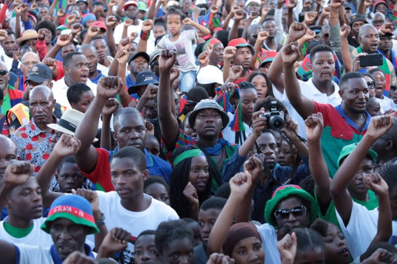 Namibia's Geingob claims win but opponents challenge results