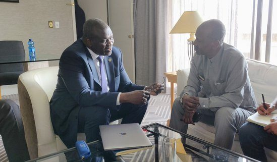 UN reaffirms support as Machar, IGAD envoy meet over South Sudan deal