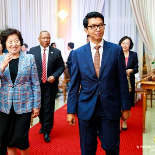 Chinese vice premier continues three-nation African tour