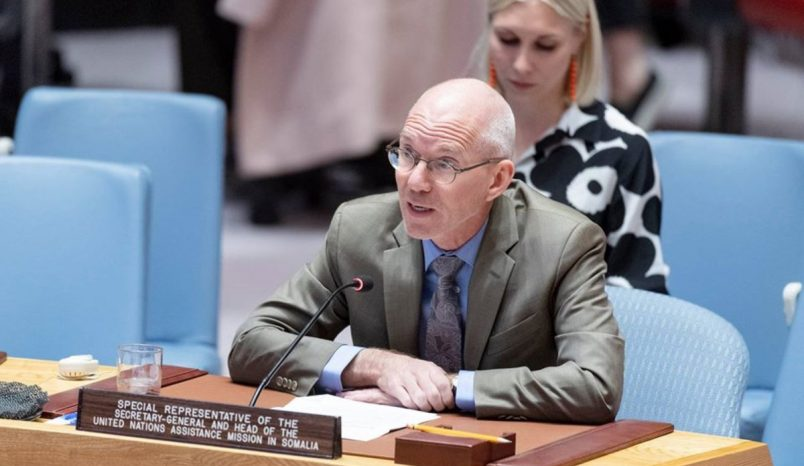 UN envoy warns of barriers as Somalia moves toward 2020 elections