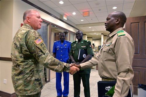 Rwanda becomes 15th nation in U.S. AFRICOM program
