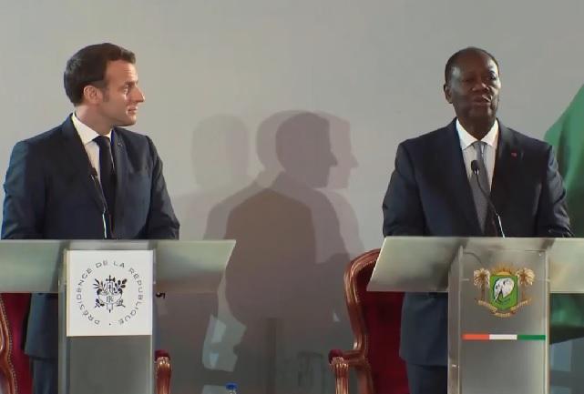 Ouattara, Macron announce the end of the CFA franc
