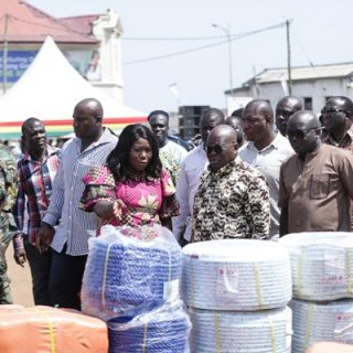 Ghana delivers fishing gear to help reduce IUU practices