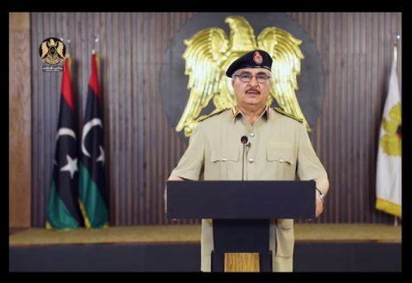 Libya's Haftar warns 'Zero Hour' has come for Tripoli