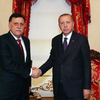 Libya's Sarraj meets with Erdogan in Istanbul