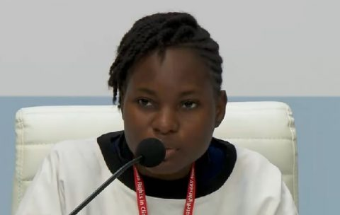 Ugandan activist demands climate justice at COP25