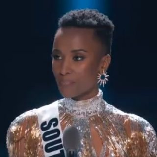 South Africa's Tunzi named Miss Universe