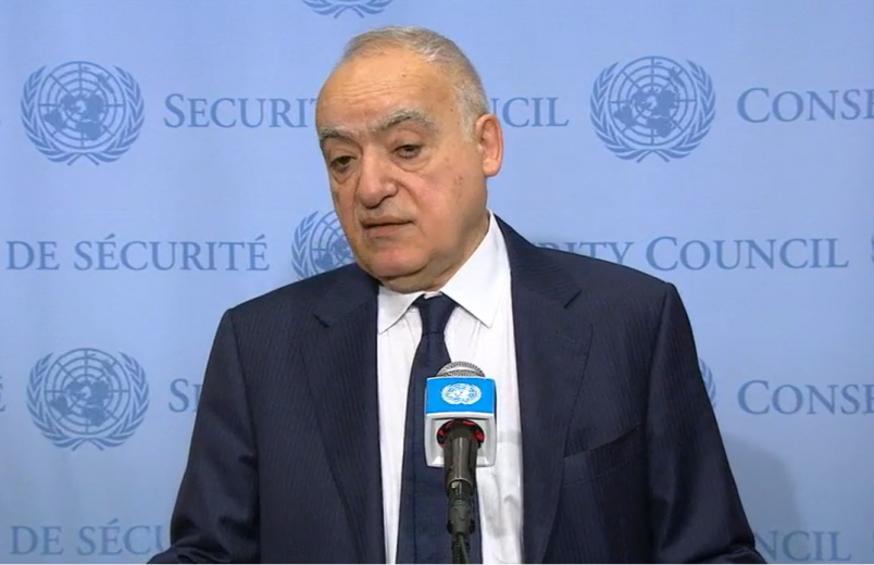 'Keep your hands off Libya' says UN's Salamé to foreign parties