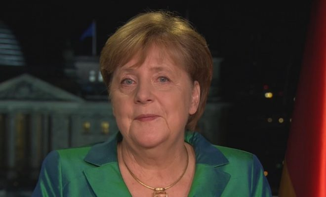 Merkel notes Africa priorities, climate change in New Year address