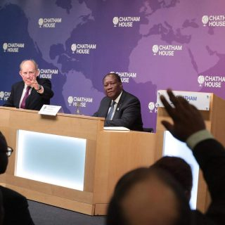 Ouattara promises peaceful elections in uneasy Côte d'Ivoire