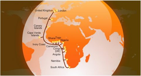 Ship en route to fix Africa's cable break, but it's not over yet