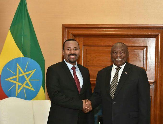 Ramaphosa joins talks over Ethiopia's GERD dam project