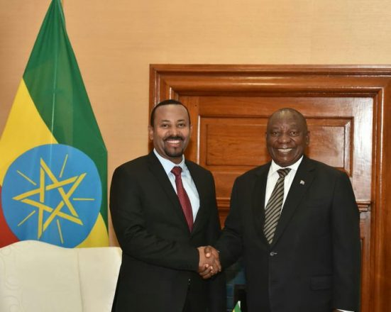 Ramaphosa joins talks over Ethiopia's GERD dam project