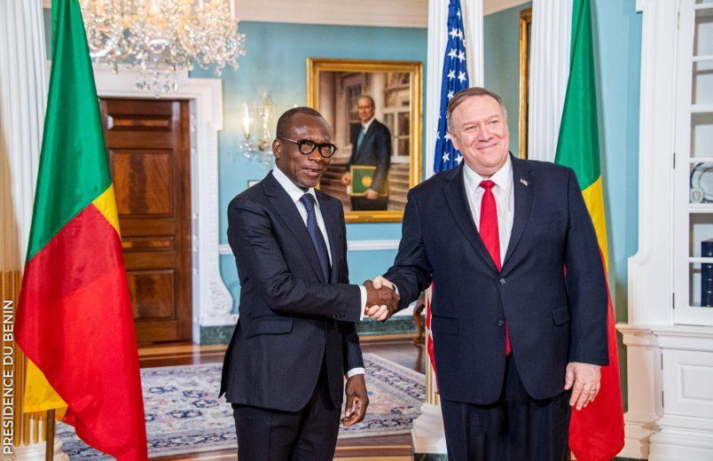 Benin's Talon talks security, development during U.S. visit