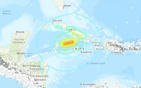 All eyes on Caribbean as 7.7-mag quake strikes near Jamaica