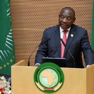 Ramaphosa takes up AU presidency with an economic focus