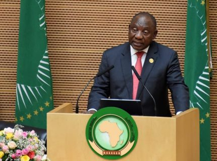 Ramaphosa takes up AU presidency with an economic focus
