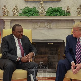 Kenyatta says U.S. trade deal won't undermine AfCFTA