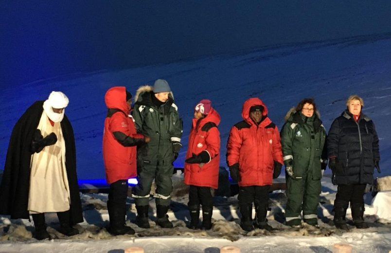 Ghana's Akufo Addo co-chairs Svalbard Seed Vault deposit events in Norway