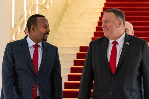 Ethiopia hosts Pompeo with economy, security top of mind