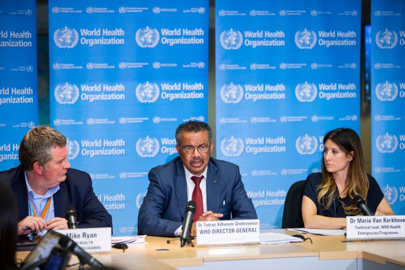 Tedros warns 'we may only be seeing the tip of the iceberg' on virus