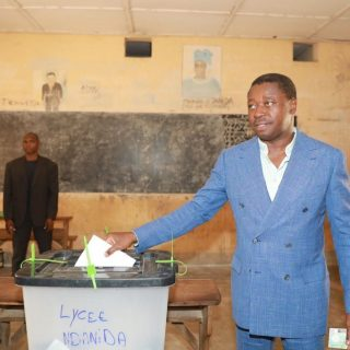 Togo opposition condemns fraud as Gnassingbé claims election win