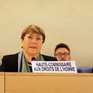 Bachelet turns to Africa in report to UN Human Rights Council