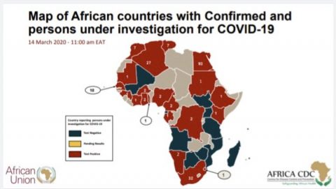 Africa records at least 229 COVID cases in 23 nations