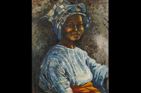 Famous 'Sefi' portrait by Enwonwu to be part of Sotheby auction