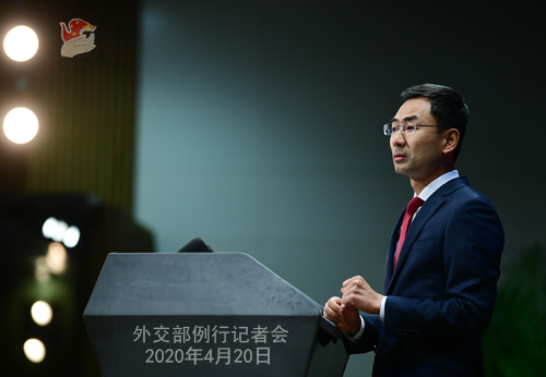 China counters accusations on COVID-19