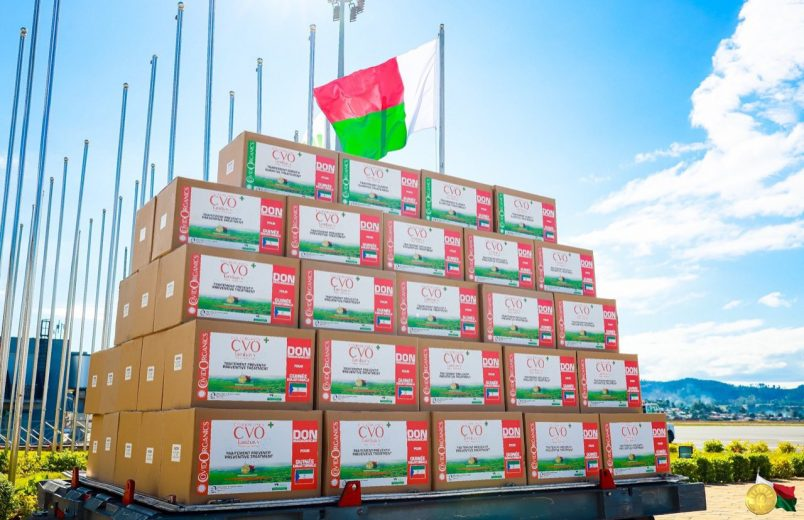 Guinea Bissau accepts shipment of Madagascar's herbal COVID product