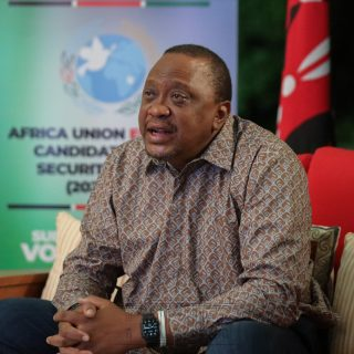 Kenyatta says Kenya, elected to UN Security Council, will advocate for reform