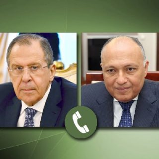 Shoukry, Lavrov call focuses on Libya ceasefire