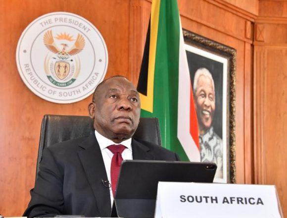 Ramaphosa imposes new rules, warns SA the COVID 'storm is upon us'