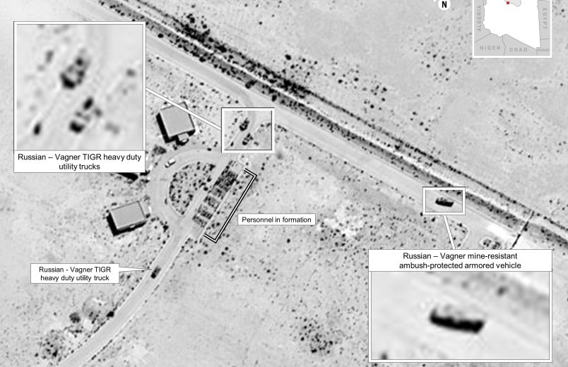 U.S. says new images add to evidence of Russian interference in Libya