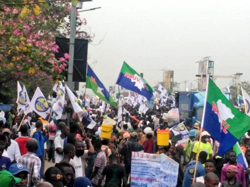 Kinshasa greets the returned opposition leader Fayulu