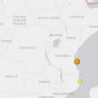 Tanzania shakes again as Indian Ocean coast sees 3rd quake this week