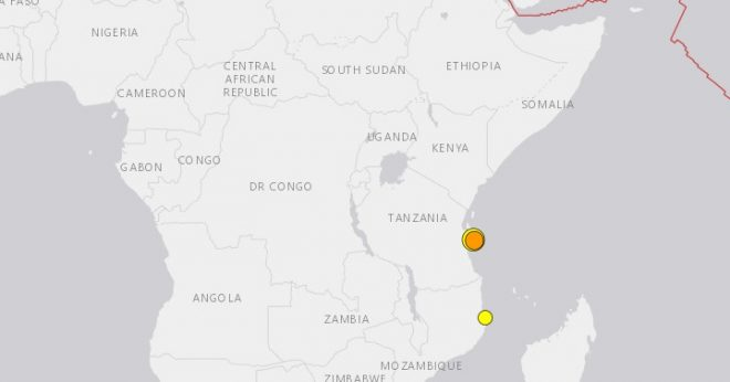 Tanzania shakes again as Indian Ocean coast sees 3rd quake this week