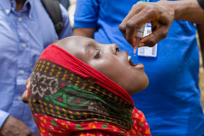 Africa celebrates success of 24-year effort to end wild polio